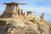 Three Caps <br /> <br /> Bisti/De-Na-Zin Wilderness  <br /> Farmington, New Mexico <br /> (5II2-14312)