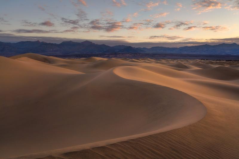 First Light Mesquite Flat Sand Dunes