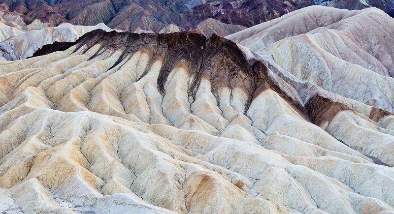 Zabriski Point after Sunset <br /> Death Valley National Park <br /> Death Valley, California <br /> (5II2-08536)