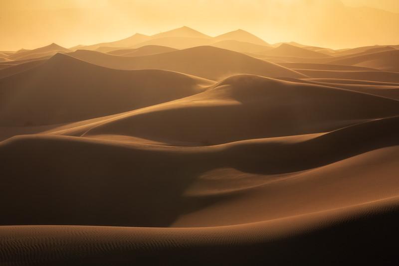 Mind Wandering in the Desert