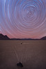 Star Trails at Racetrack <br /> Racetrack Playa <br /> Death Valley National Park <br /> Death Valley, California <br /> (5II2-08964)