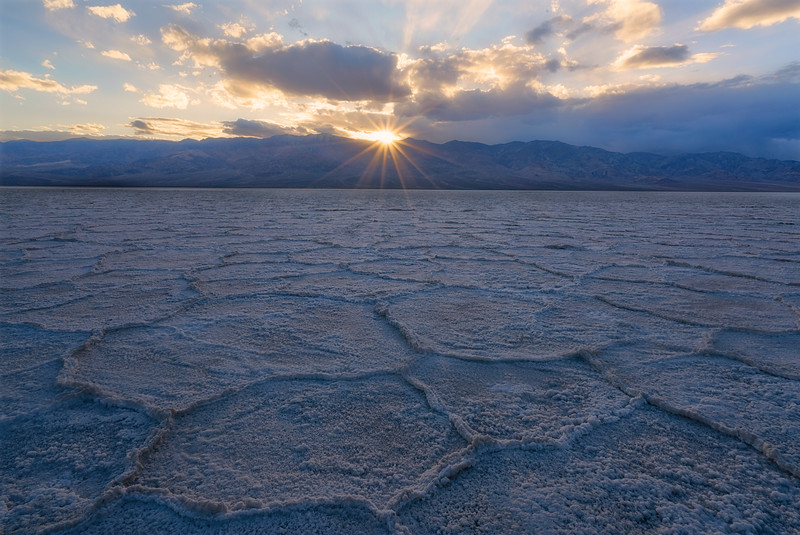 Bad Water Trapezoidal Sunset