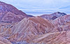 Zabriski Point after Sunset <br /> Death Valley National Park <br /> Death Valley, California <br /> (5II2-08573)