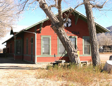 Old Railroad Station, Magdalena, NM, 2005