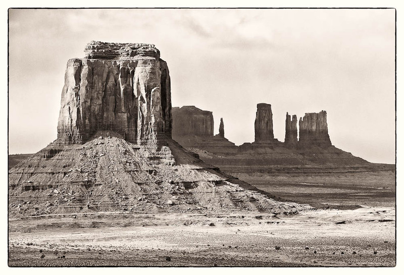 East Mitten Butte  <br><br>Monument Valley Navajo Tribal Park <br>Monument Valley, Utah <br>(5DII-24744)