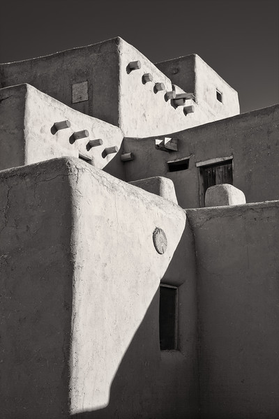 Morning Sun <br /> <br /> Taos Pueblo <br /> Taos, New Mexico <br /> (5II2-11476)