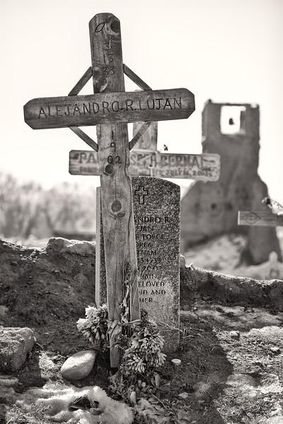 Grave Yard <br /> <br /> Taos Pueblo <br /> Taos, New Mexico <br /> (5II2-11629)
