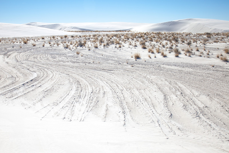 White Sands <br /> <br /> White Sands National Monument <br /> Alamogordo, New Mexico <br /> (5II-10973)