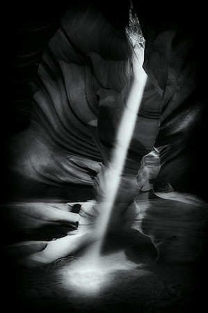 Lower Antelope Canyon Sunbeam 3<br /> © Sharon Thomas