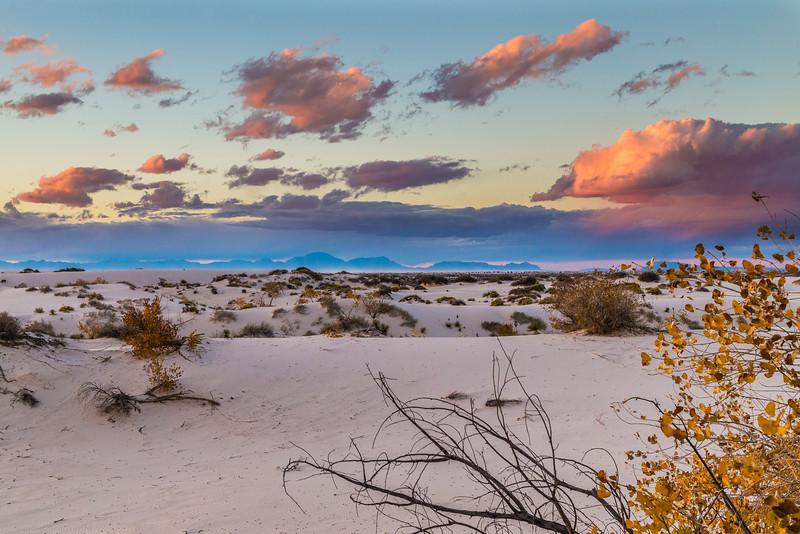 White Sand Sunset