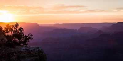 Yavapai Point Sunset