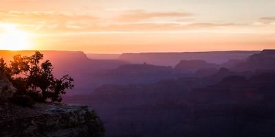 Yavapai Point Sunset