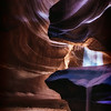 Lower Antelope Canyon Sunbeam<br /> © Sharon Thomas