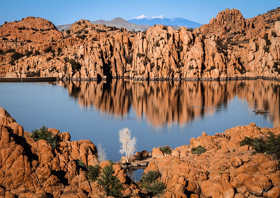 Watson Lake With Mt. Humphreys in the background