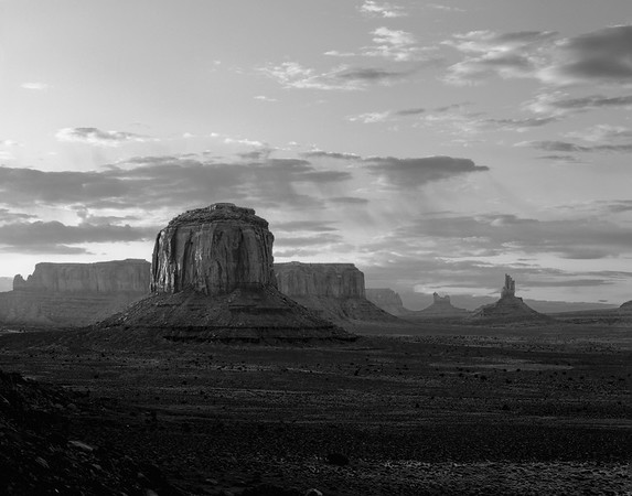 Artists Point, Monument Valley