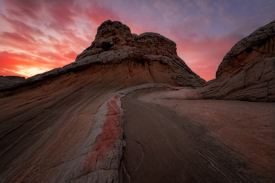 White Pocket, Vermillion Cliffs, Arizona, Landscape, Desert, Sunset