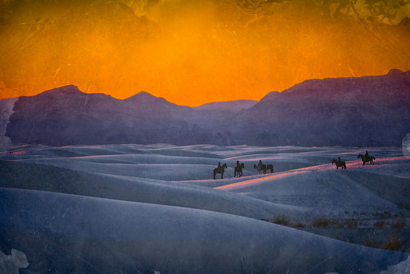 White Sands, NM - Sunset<br /> © Sharon Thomas