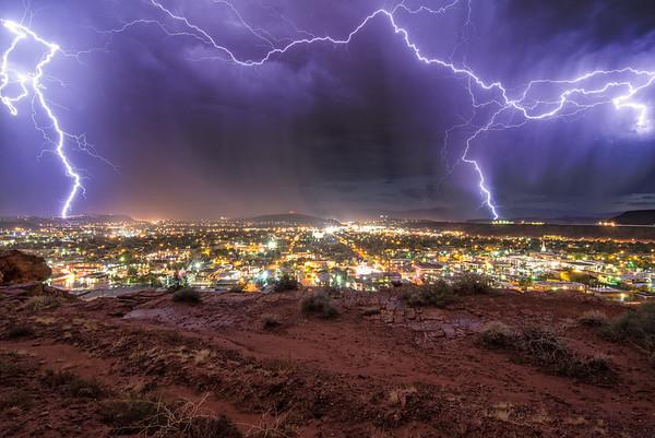 Deluge in the Desert