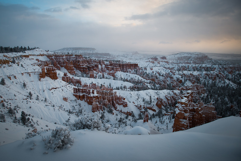 Stormy Bryce Canyon