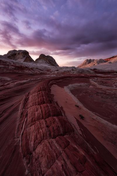 White Pocket, Vermillion Cliffs, Arizona, Landscape, Desert, Sunset