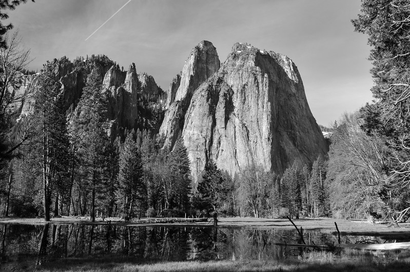 Yosemite B&W I
