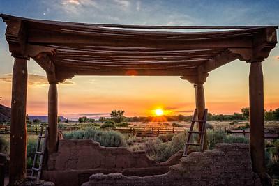 Daybreak in New Mexico