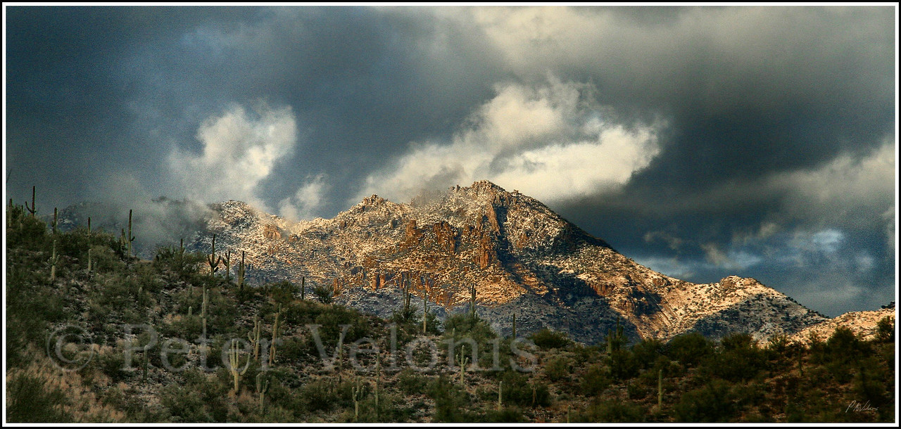 Tucson Mountains near Gates Pass