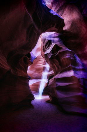 Lower Antelope Canyon Sunbeam 4<br /> © Sharon Thomas