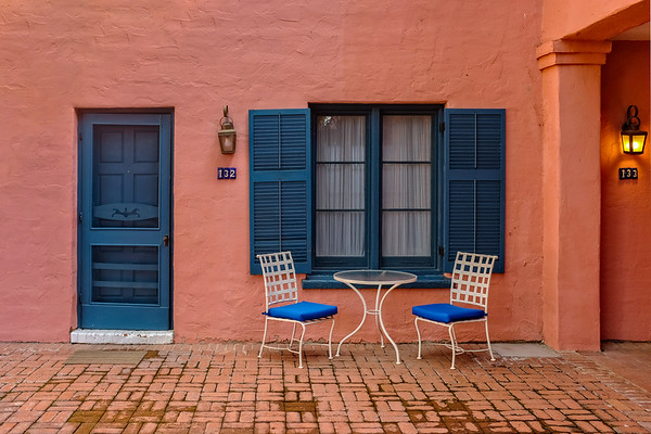 Contrasts in Color - Arizona Inn, Tucson, AZ
