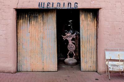 Say Hello to My Little Friend - Welding Shop, Scottsdale, AZ