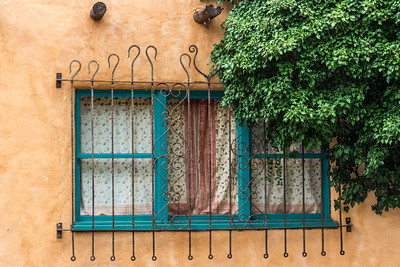 Adobe Window, Santa Fe, NM