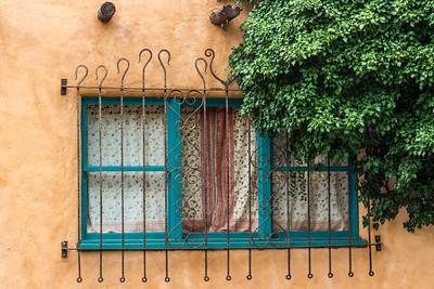 Adobe Window, Santa Fe, NM