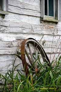 Rusty Wheel, no grease