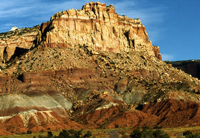 Burr Trail Capitial Reef National Park Utah