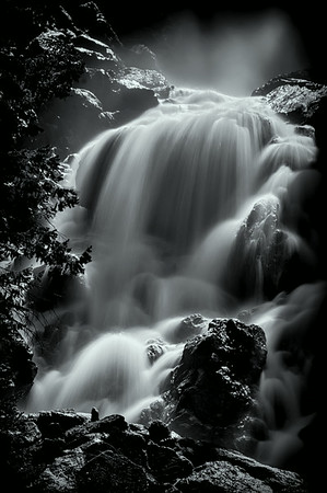Steamboat Springs Waterfall 3<br /> © Sharon Thomas