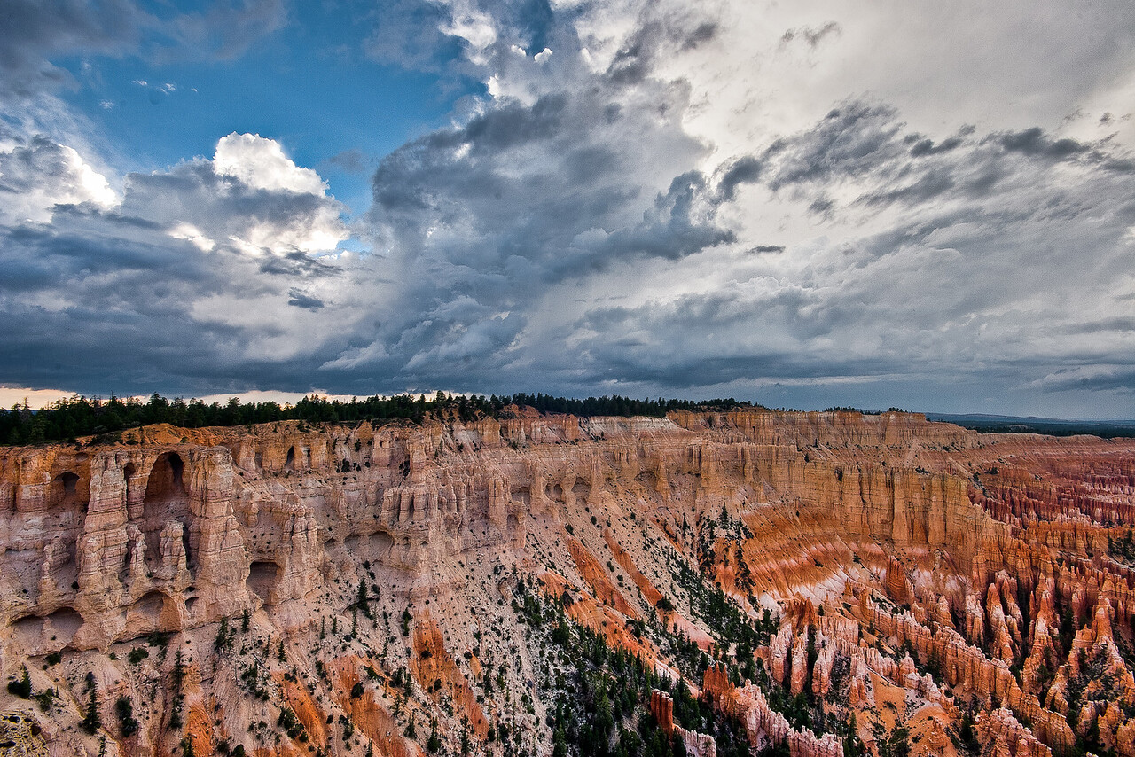 Storm in Bryce Canyon