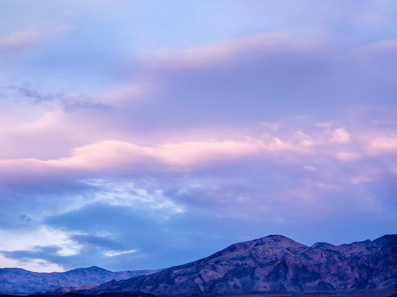 Pastel Sunset, Death Valley CA