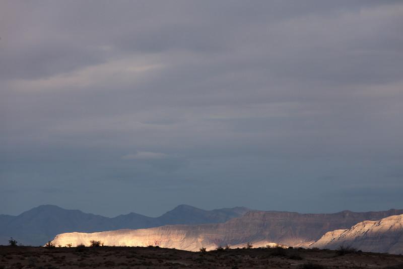 Dappled Light, Near Route 66, Arizona