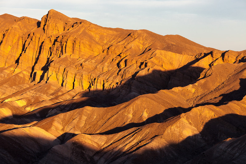 Morning Light on Red Rock, Death Valley CA