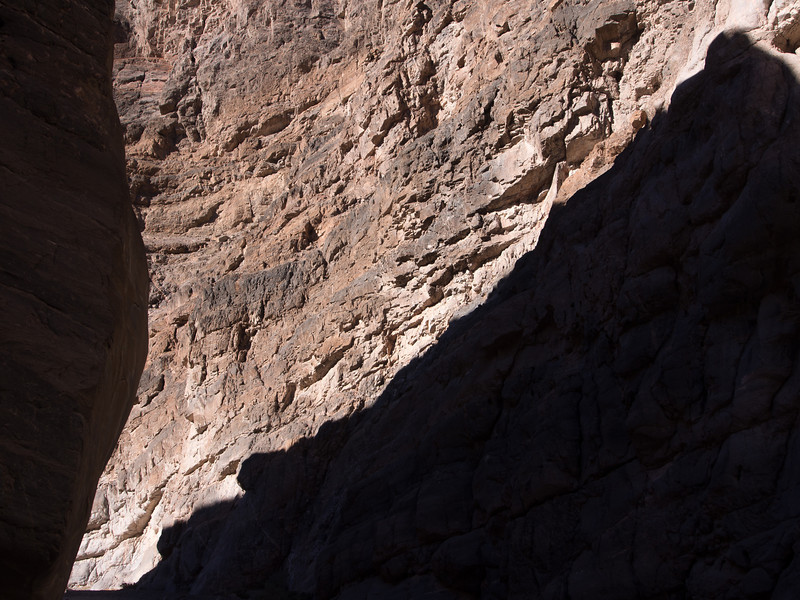 Rock and Shadow, Death Valley CA
