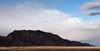 Mountain Ridge and Clouds in Harmony, Nevada