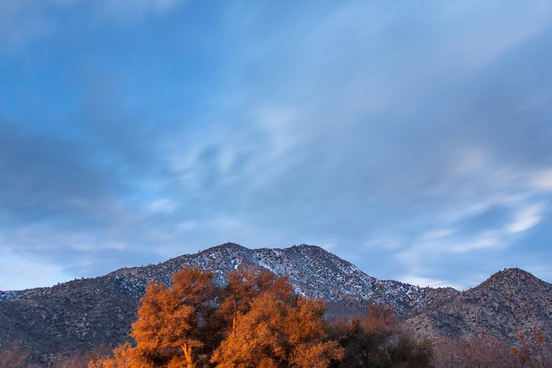 Pre-Dawn Winter Morning, Kernville CA