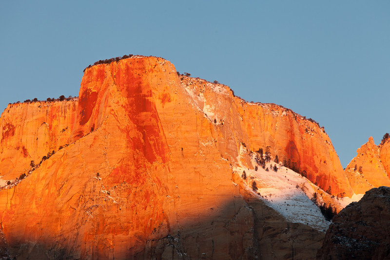 Blazing Sunrise, Zion NP