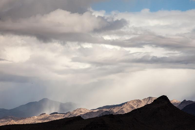 Drama Near Route 66, Arizona
