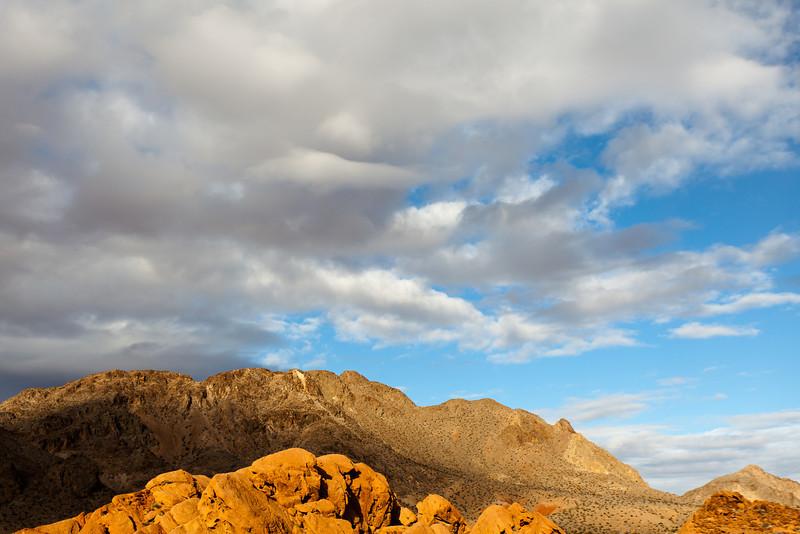 Desert Light under Clouds, Nevada