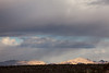 Spotlight on Mountains, Route 66, Arizona