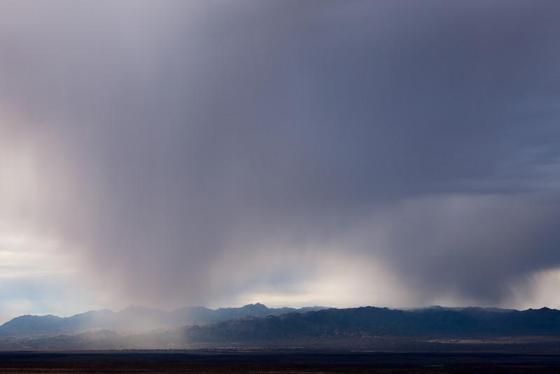 Rain Squall, Route 66, Arizona