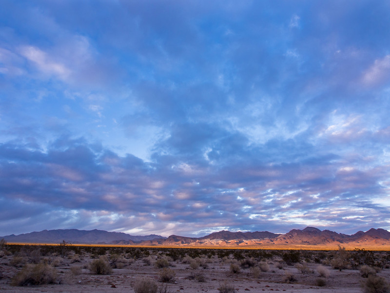 Late Afternoon Light, Route 66, California