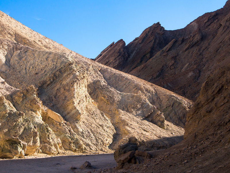 Golden Canyon Study, Death Valley CA