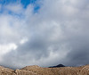 Dark Mountain Against Light, Near Highway 178, CA